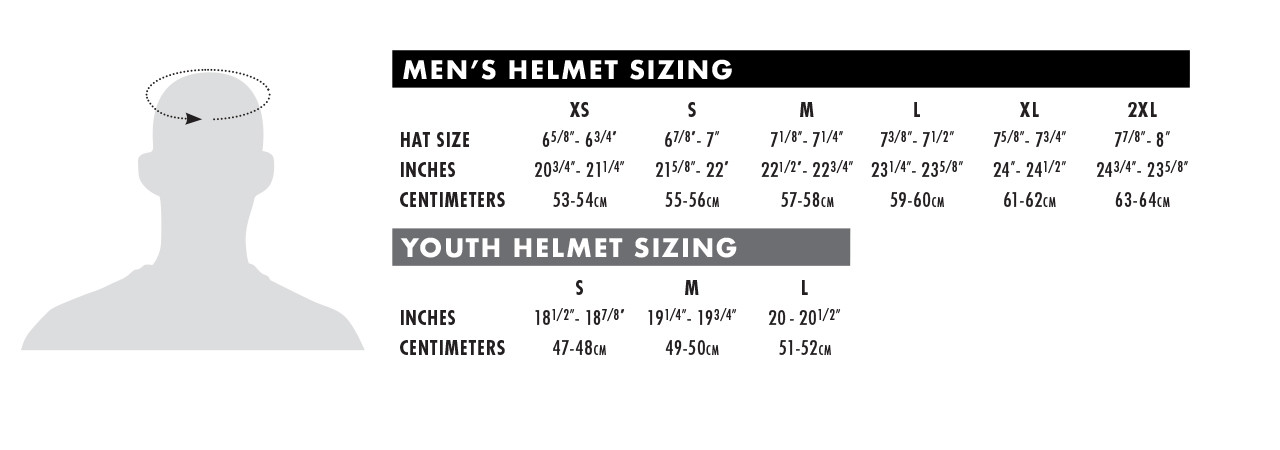 Size charts thormx